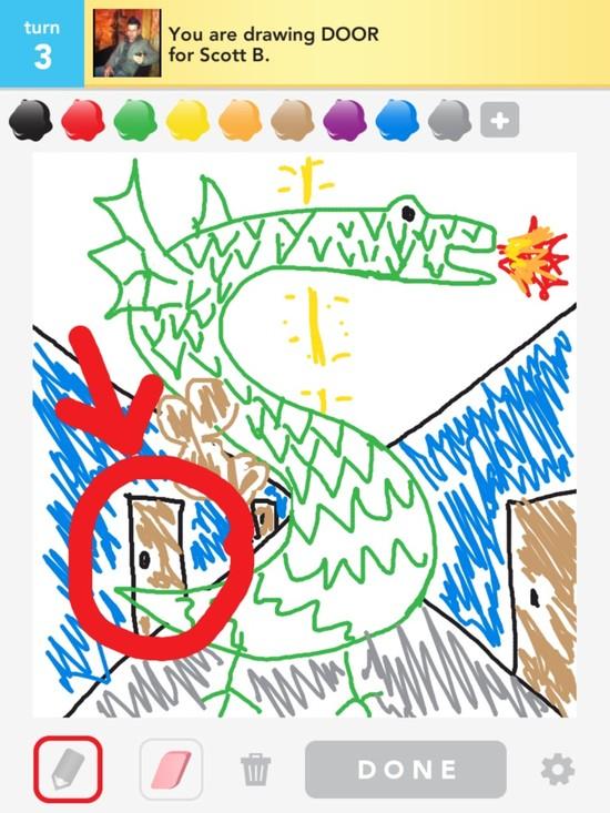 draw something DOOR