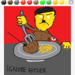 draw something ignore hitler 1