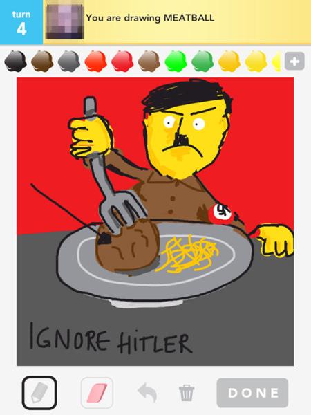 draw something ignore hitler 1