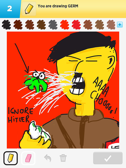 draw something ignore hitler 2