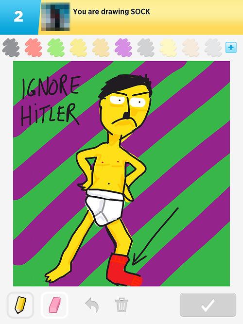 draw something ignore hitler 4