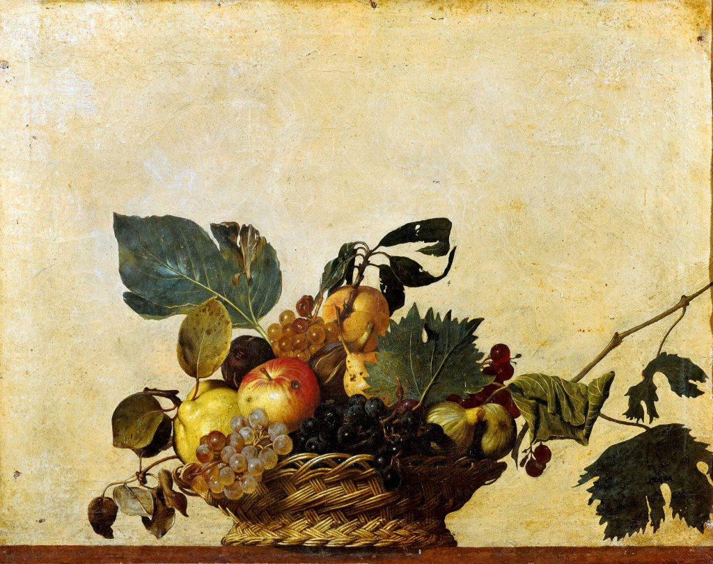 Caravaggio - Basket of fruits 1599