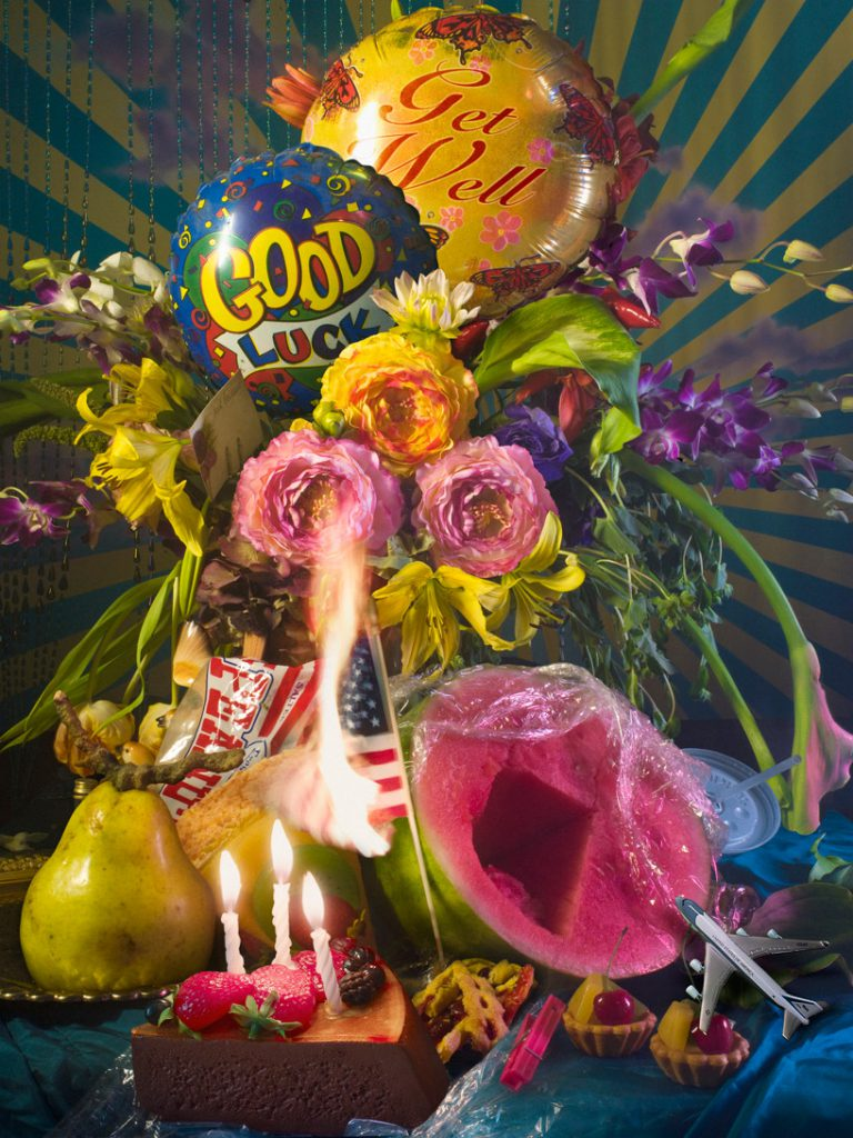 David Lachapelle - earth laughs in flowers