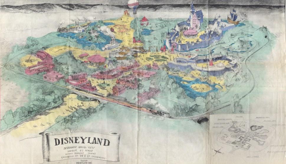 Disneyland Prospectus - 1955