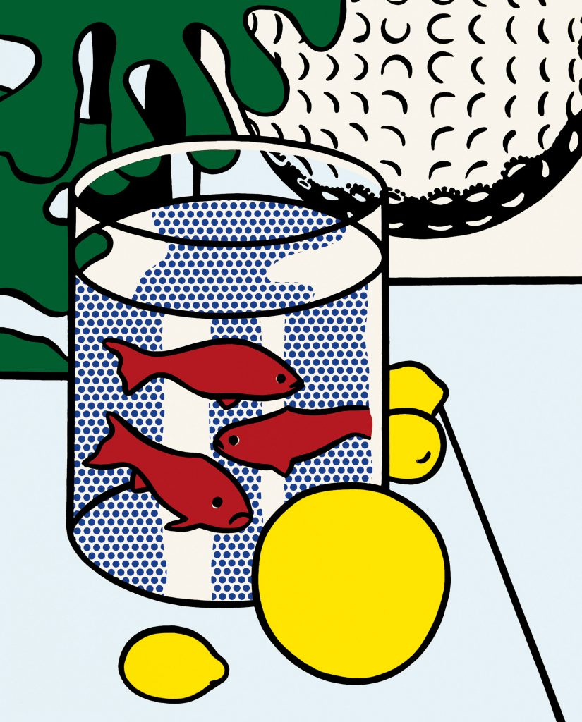 Roy Lichtenstein, Still Life with Goldfish, 1972