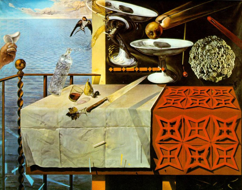Salvador Dali - Nature Morte Vivante 1956