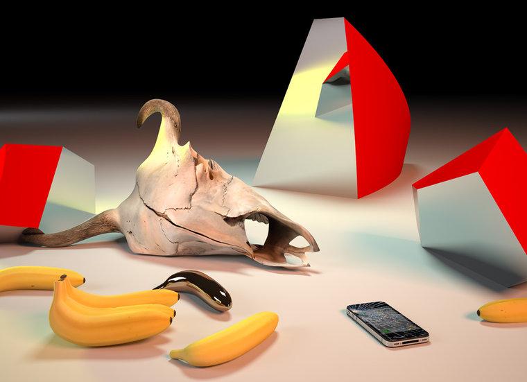 Takeshi Murata Golden Banana, 2011