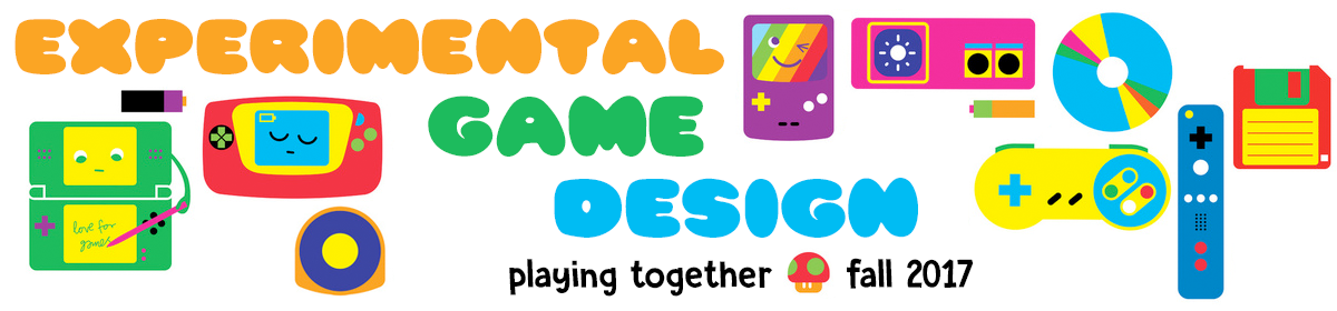 Experimental Game Design – Playing Together