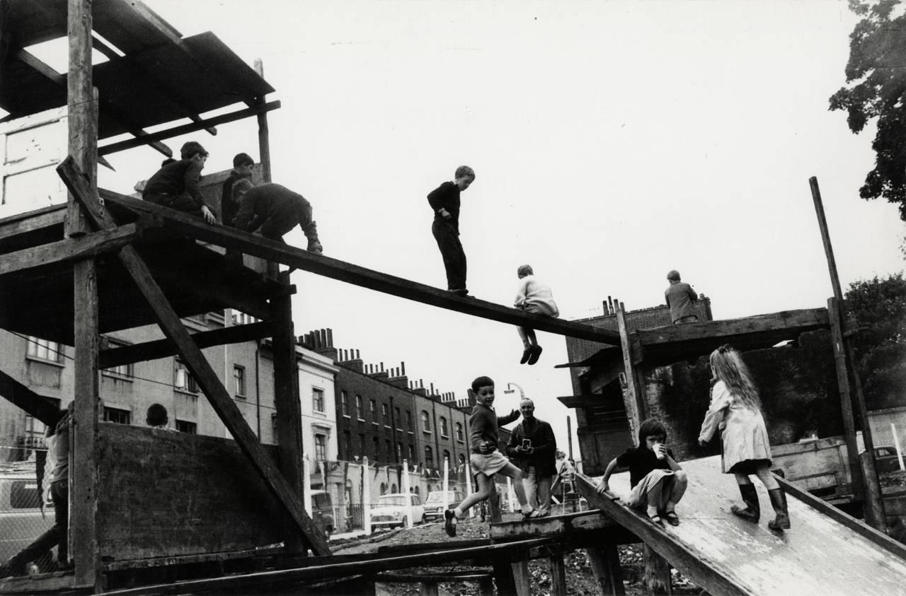 Adventure Playground, Islington, London, c. 1957