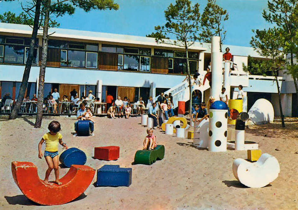 Founded in 1967 by an artist and architect and a filmmaker, Group Ludic was a French collective who created visionary playgrounds through participatory design.