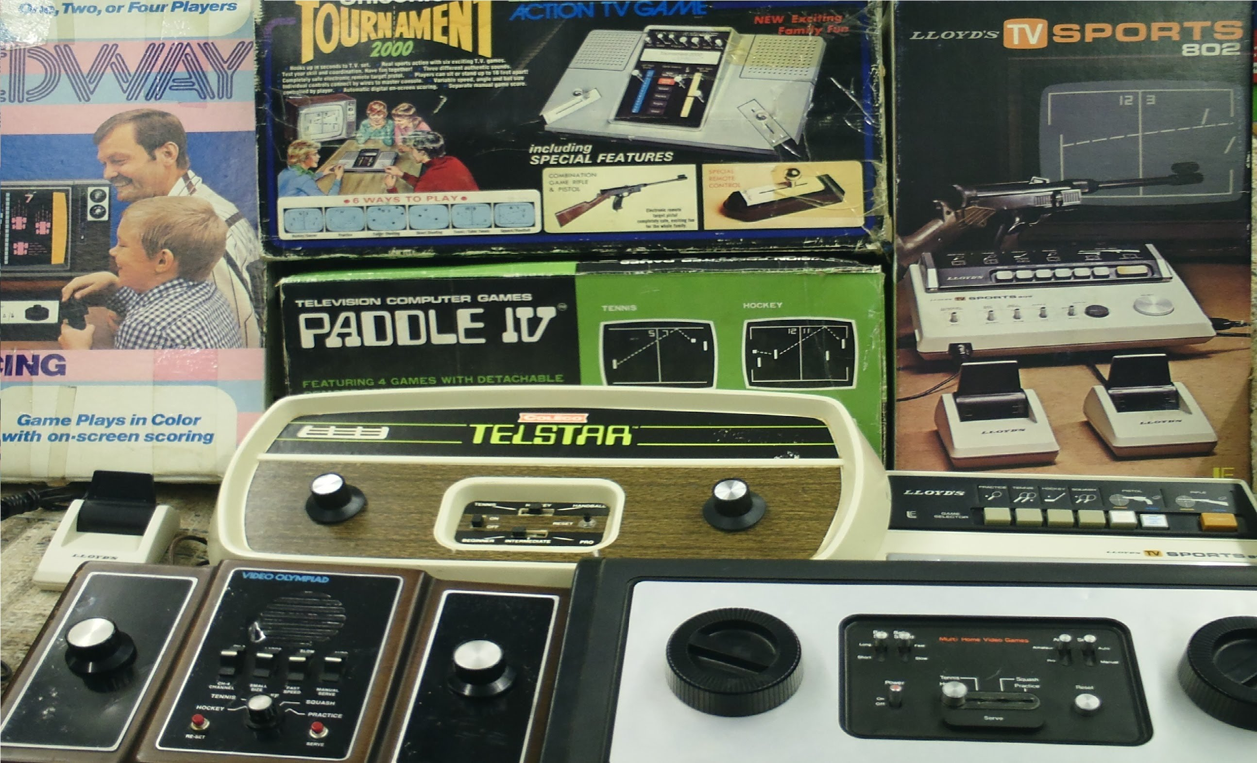 In 1977 a million of pong clones flooded the market crashing the young industry