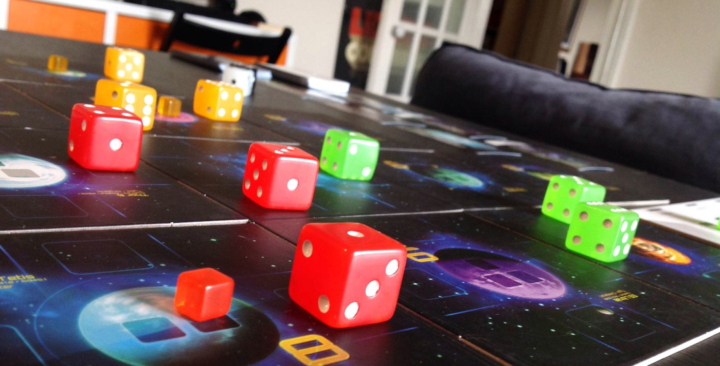 In Quantum the spaceships are the dice