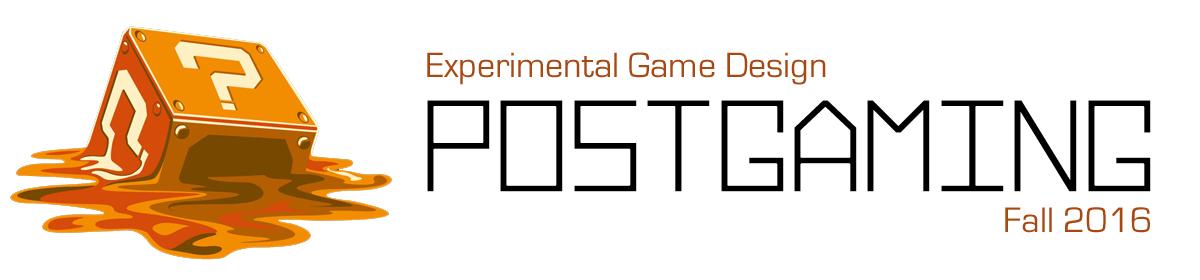 Experimental Game Design – Postgaming